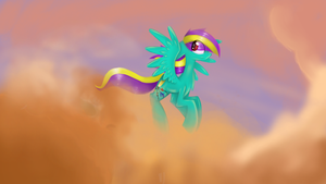 Just flying and being cute by IgnisLamina
