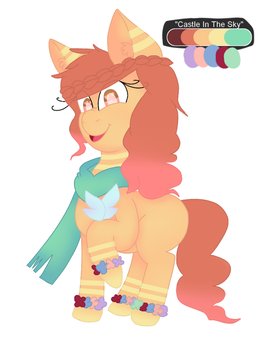 .:(CLOSED) PALETTE-INSPIRED PONY ADOPT:. by TheDMCArts