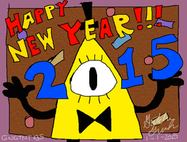 Happy New Year! 2015 by GNGTNT105