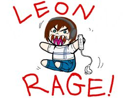 Leon Rage!! by Inky-Doodle