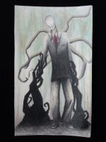 Slenderman by Doveating-Popcorn