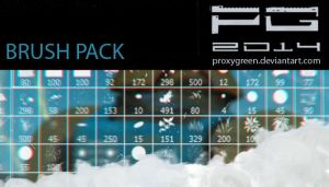 Brush Pack 2014 by ProxyGreen