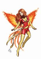 Phoenix by Fandias
