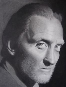 A portrait of Charles Dance by lin-jay
