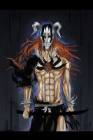 Ichigo hollow by Kizanko-dragon