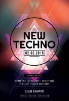 New Techno Flyer by styleWish