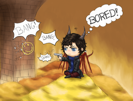 Bored by Loroqueen