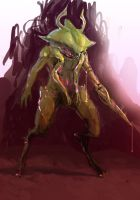 Insect Soldier by Grizzlyfrog