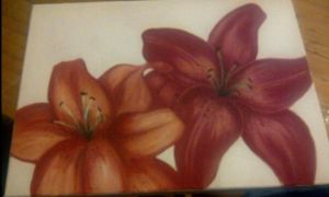 Tiger Lilies by CplSarCia