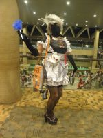 Otakon 2013 - French Maid Kakashi by mugiwaraJM