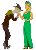 RotG: A Kiss for a Lady by Tifa-the-Strange