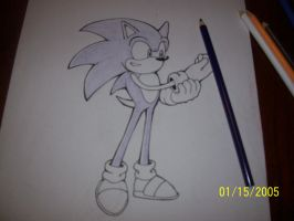 How I color Sonic part 1 by Snivy94
