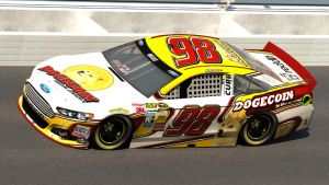 Josh Wise #98 DogeCoin Ford Fusion by Driggers