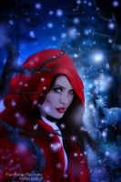 Walking with Red Riding by Fae-Melie-Melusine