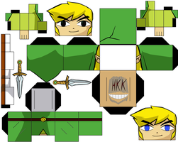 LinkFour Swords by hollowkingking
