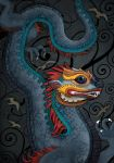 Blue Dragon by kimrhodes