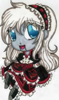 TRADITIONAL: Chibi Ally Design~ by InvaderIka