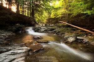 Waterfall, Bristol, Vermont by esphotoz