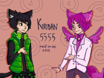 kiriban 5555 part 1 by maid-in-rei