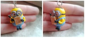 Minion (keychain) - Despicable me by nunyArt