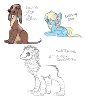 Doodles by makashy