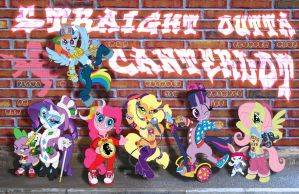 My Little Pwnie: Friendship Is Gangsta, BEE-YITCH! by DJVinylScratchPON-3