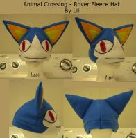Animal Crossing Rover Hat by LiliNeko