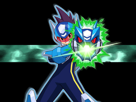 Megaman Star Force Wallaper by Icyfrodo