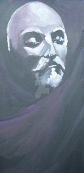 Death Mask of the Playwright by BruceCollinsArt