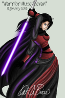 Warrior-Muse Revan by DarkJediPrincess