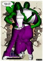 She Hulk, The Real Deal... by Stone3D