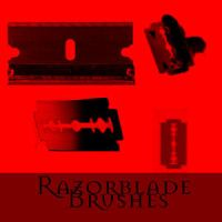 Razorblade Brushes by missedyn