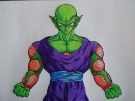 Piccolo DBZ Finished by Sherlock3000
