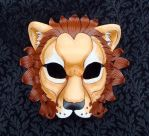 African Lion Mask by merimask