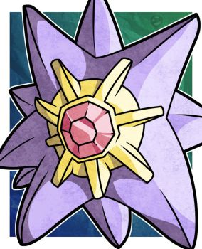 Starmie by WhyDesignStudios