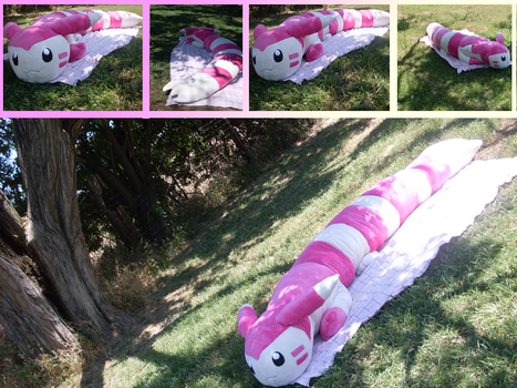 Commission: Shiny Lifesize Furret by MouseAlchemist