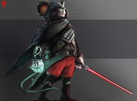 mickey mouse the sithlord. by DimiDevos
