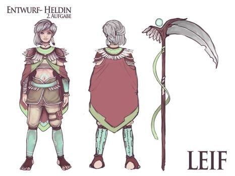 Leif characterdesign by captainmaryth