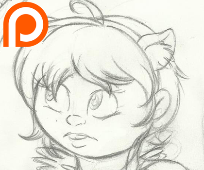 Squirrel Girl- Sketch Preview by InkBottleInc