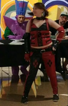 Cosplay! XD Harley Quinn! by allieseville1