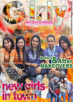 girly magazine by bakoeldesain