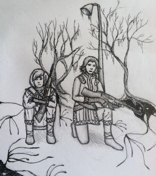 Sigrun and Emil by ReyRay
