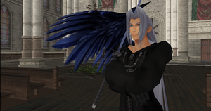 MMD Newcomer Sephiroth Organization XIII + DL by Valforwing