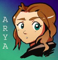 ASOIAF - ARYA by rachitick