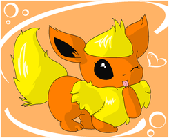 Contest entry: Flareon by CoaCoaIcing