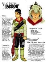 The Philippine Assassin by airbendergal