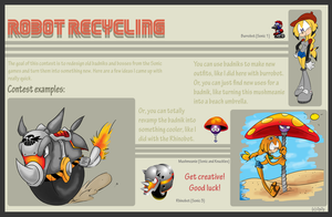 Robot Recycling Contest Rules by OyOy