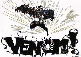 Venom - Spider-man by Wolf-Spirit89