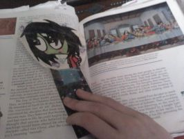 Playing With Fire Zim Bookmark 4 by ZIMSULTIMATELUVA