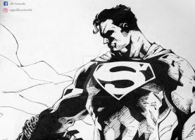 The Man of Steel by Nickblaster